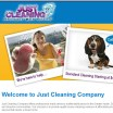 Just Cleaning Company - Austin, Texas - New Website Design