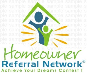 referral network logo designer