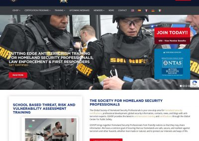 Global Society of Homeland Security Professionals Train Prepare Prevent Protect Respond Recover