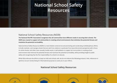 National School Safety Resources (NSSR)