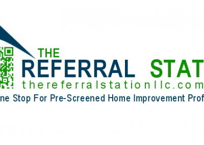 referral logo design