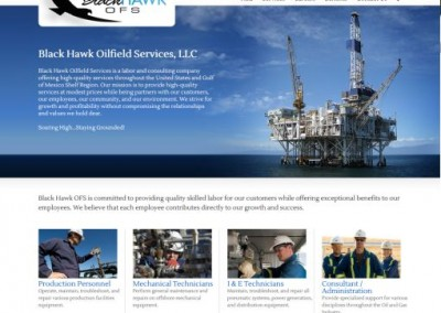 oilfield website designers
