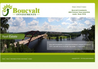 investment logo and website design