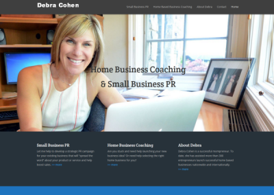 coaching business website designer