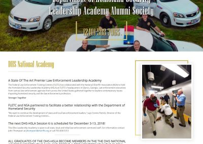 DHS Academy Website