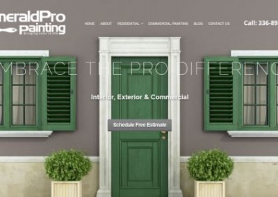 painter website design