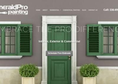 painter website design