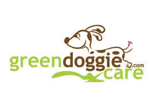 green doggie care logo design