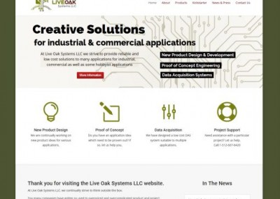 technical website design