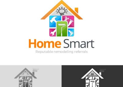 home smart logo design