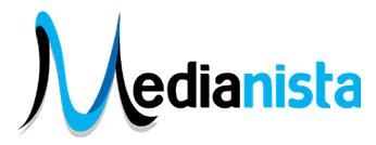 media marketing logo design