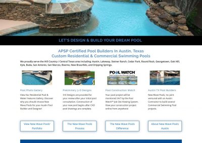 newwave-pools-website
