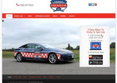 taxi website design