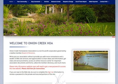 onion-creek-website