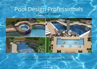 pool design pro website & logo design