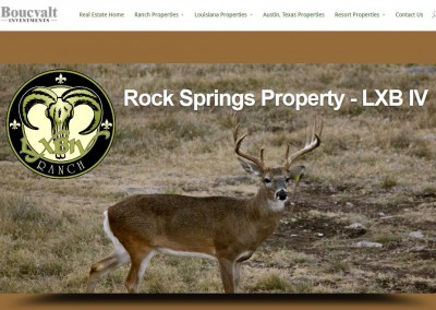 ranch - hunting leases - website design