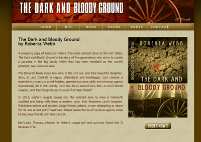 Author Website logo designer