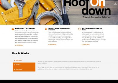 Contractor Responsive Web Design - by Austin Web Design