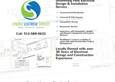 electrical service website design