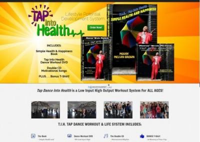 entertainer website design - dvd sales