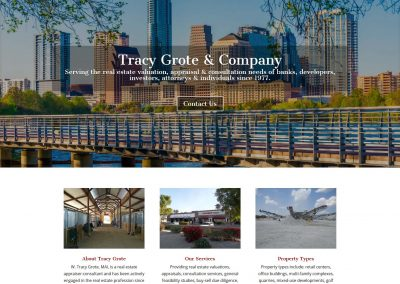 tracy-website