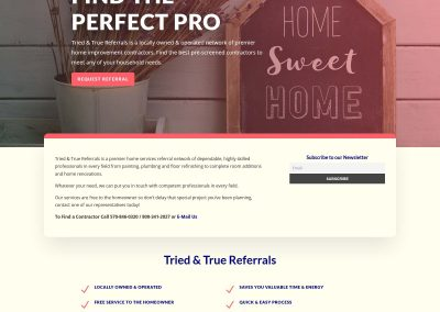 Custom Wordpress Responsive Website & Logo Design - by Austin Web Design